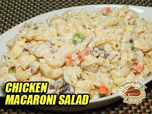 Macaroni Salad Recipes Panlasang Pinoy