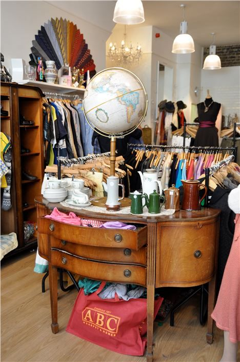 Charity shopping in london yes please bucket list for Furniture charity shops