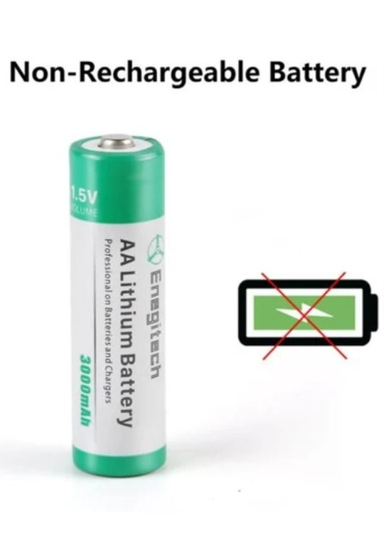 Aa Lithium Battery 3000mah 1 5v Double Non Rechargeable 16 Pack Lithium Battery Security Cameras For Home Battery