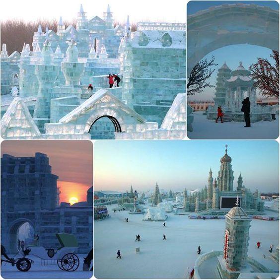 Severna kineska provincija, poznata po najhladnijoj klimi u čitavoj Aziji je od toga napravila prednost osnivanjem Međunarodnog festivala leda i snega koji se održava od 5. januara do 29. februara. Brojnji turisti posećuju ovaj festival koji je počeo da se održava još pre 49 godina.