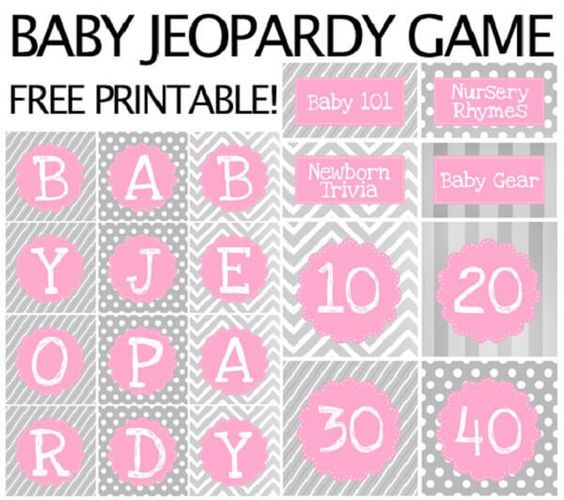 baby shower jeopardy game baby shower jeopardy nursery rhymes are