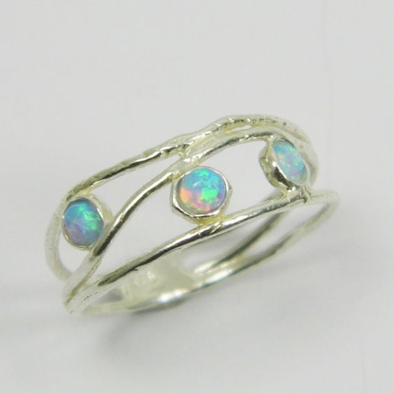 Opals, Birthday Gifts For Her And Sterling Silver On Pinterest