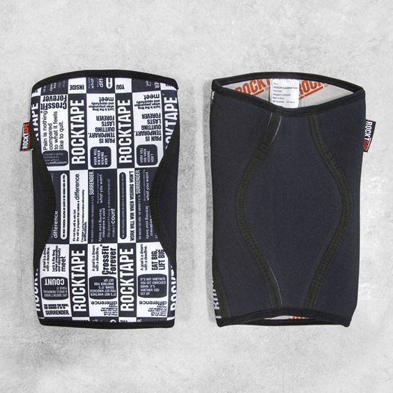 Rocktape Weightlifting Compression Knee Caps - Rogue Fitness