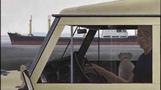 Harbour, by Alex Colville, sold in an auction Thursday for $1.88-million.