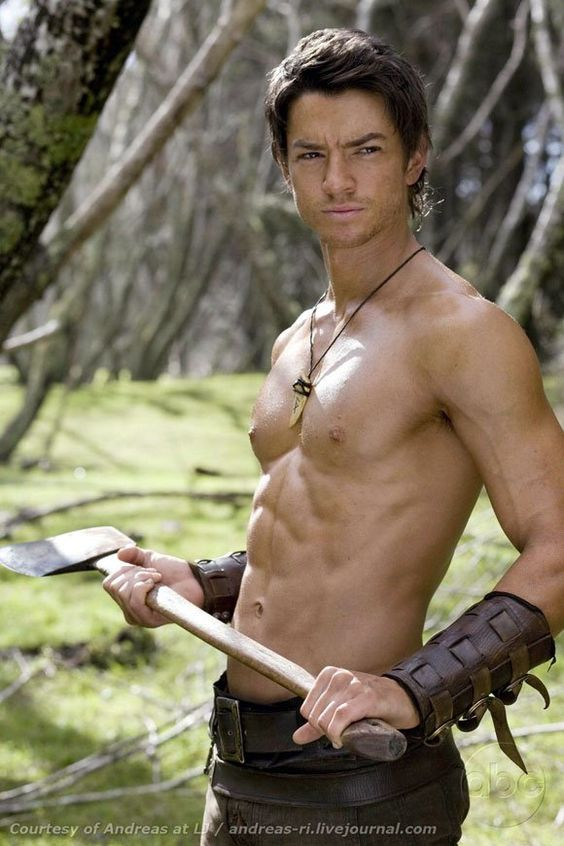 Craig Horner (as Richard Cypher from 'Legend of the Seeker')