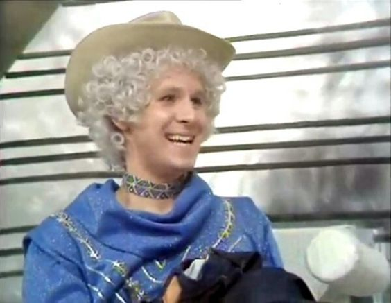 Peter Davison in The Tomorrow People.  The story was called A Man For Emily and was every bit as bad as it looks!