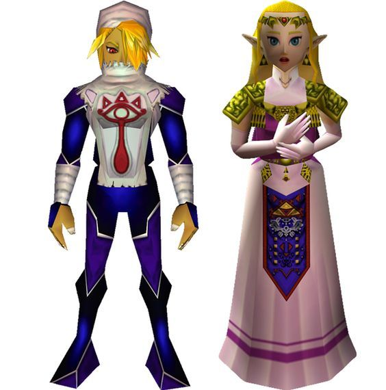 Legend Of Zelda Ocarina Of Time Characters Which Legend