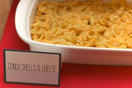 shells and cheese... I feel silly for not thinking of this ocean-themed food myself!