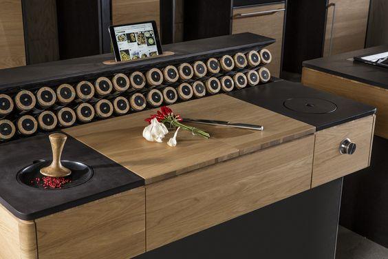 Designline Küche - Produkte: LivingKitchen 2015: Vooking | designlines.de