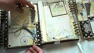 Baby Steps Baby Journal, by creative cafe girl, via YouTube.