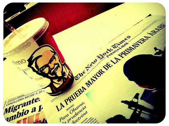 Leyendo desde KFC & NYC