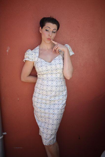 Vogue 8280 - Incredible wiggle dress!