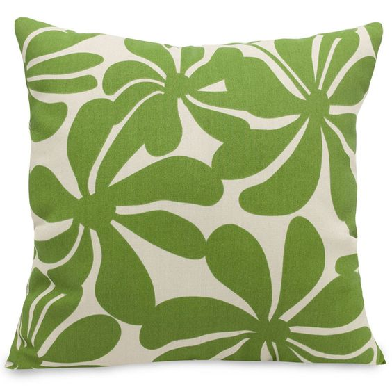 Majestic Home Goods 85907220919 Sage Plantation Extra Large Pillow 24x24