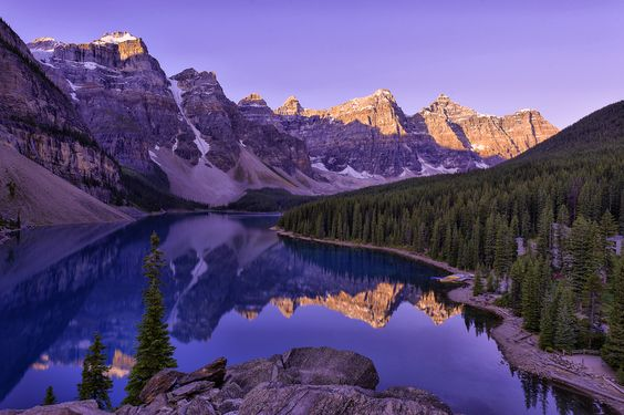 Moraine Lake by Wil Bloodworth, via 500px