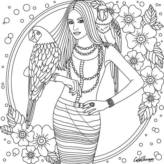 Different Ways To Cope With Stress Coloring Pages Abstract Coloring Pages Coloring Books