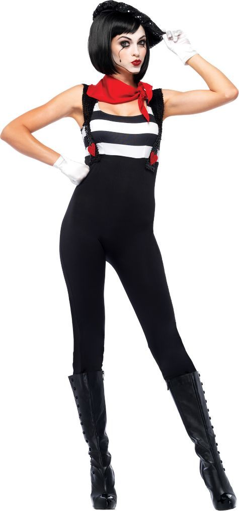 Adult Marvelous Mime Costume - Party City