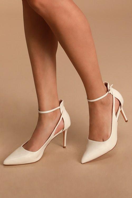 Beautiful Retro Anklestrap Heels