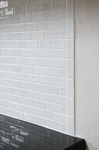 Decorative Tile Trim Glass Tile Backsplash Help Ends  Ceramic Tile Advice Forums