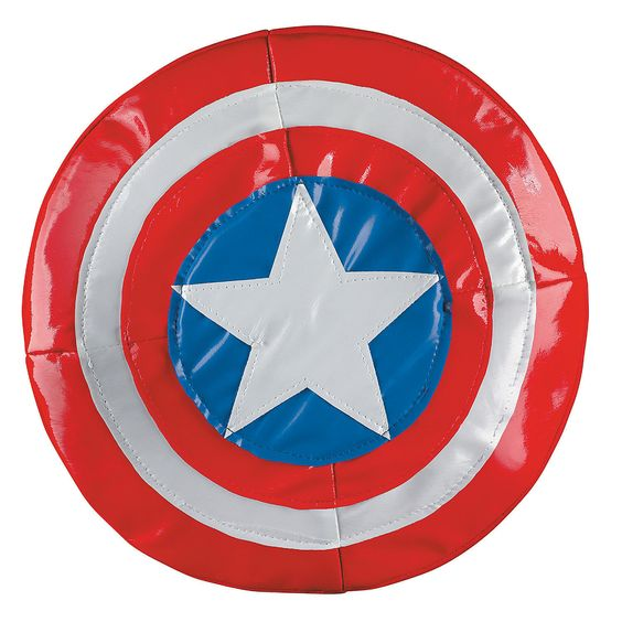 Soft Captain America Shield - OrientalTrading.com