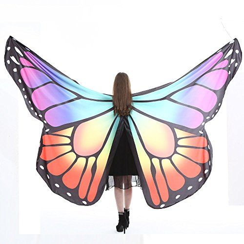 Adult Soft Butterfly Wings Shawl Adult Costume Accessories