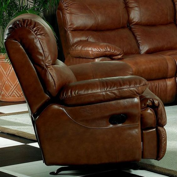 Superb Rocker Recliner Bastrop DuraBlend   Crimson Contemporary Bonded Leather  Match Rocker Recliner By Benchcraft Part Of The Bastrop DuraBlend   Crimsu2026