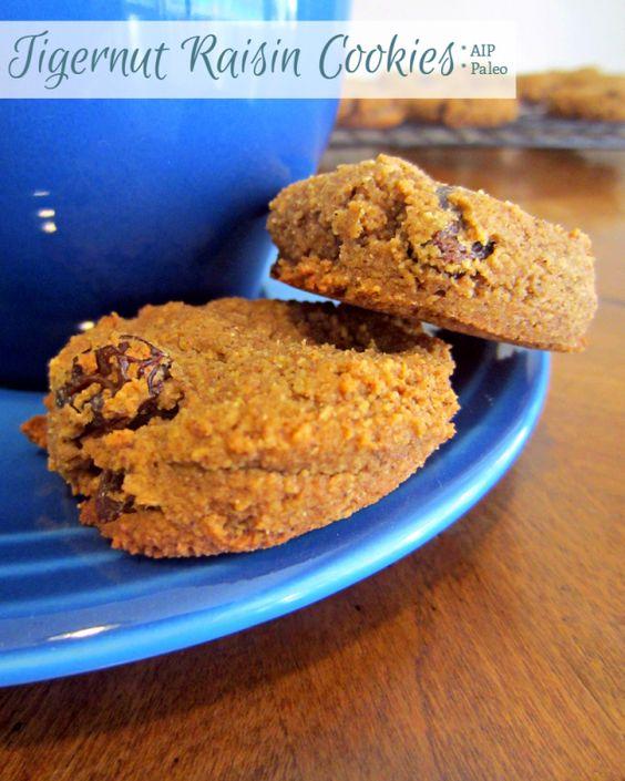 Tigernut Raisin Cookies | Enjoying This Journey