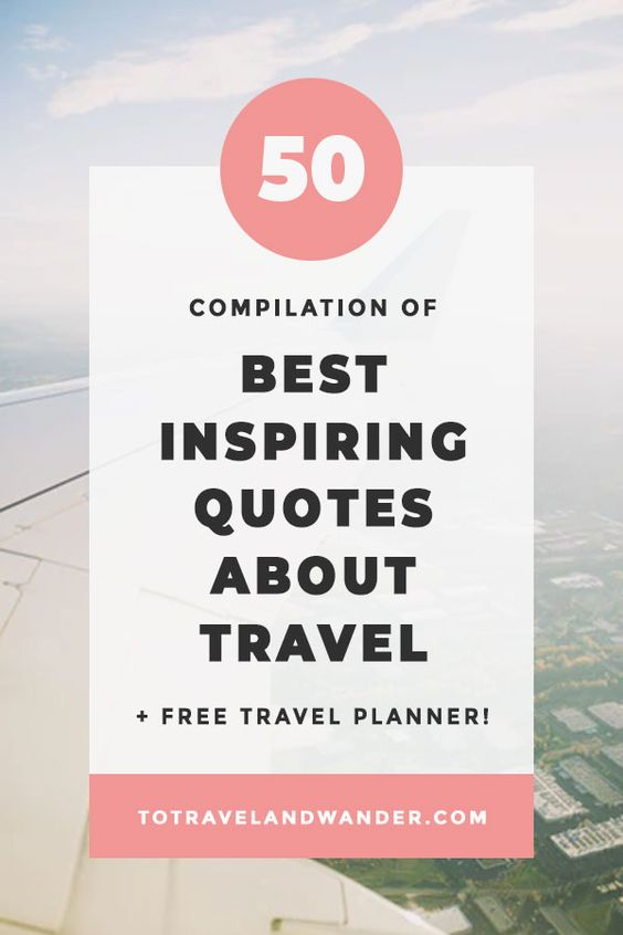 Compilation of Best Travel Quotes