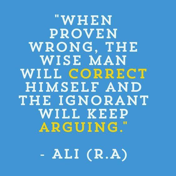 Hazrat Ali(R.A) | Quotes