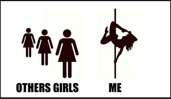 #PoleDanceSilhouette
