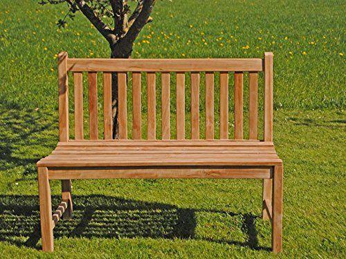 Gartenbank Holz Ohne Armlehne 180 Cm 4 Sitzer Marcenaria
