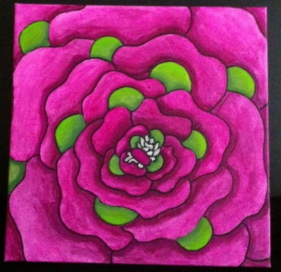 """""""Flora IV"""". By Ruwaida Y Kamand."""