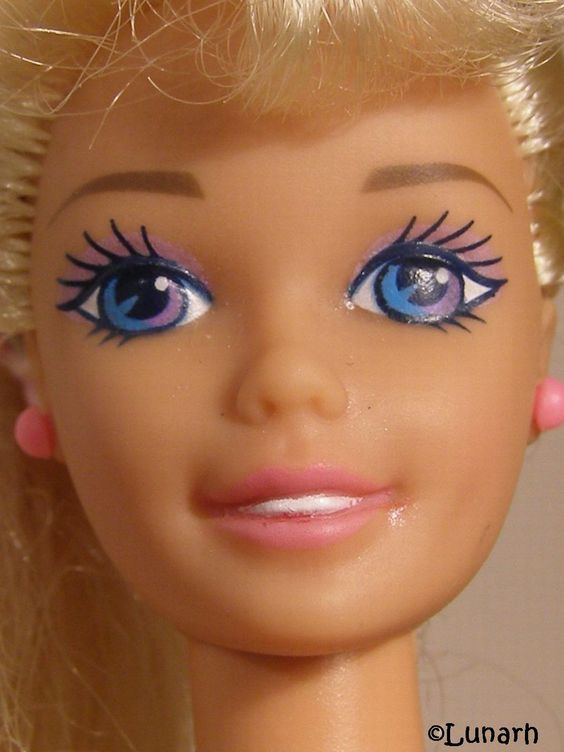 90's Barbie. A lot prettier than today's one.