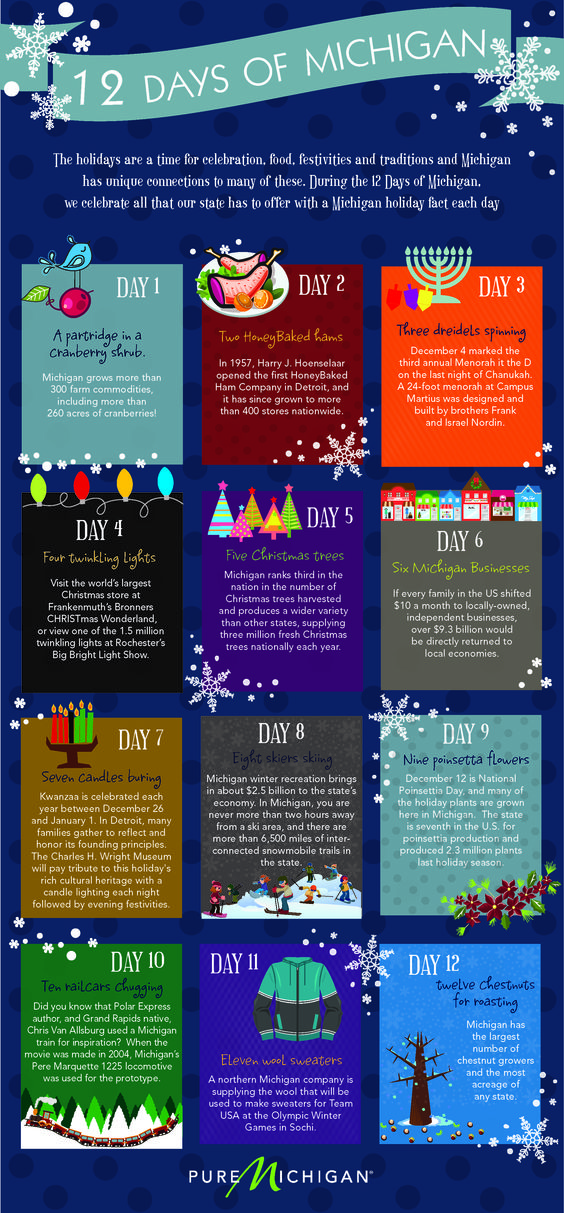The 12 Days of Michigan