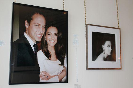 Photos of Will and Kate and Princess Margaret at the newly refurbished Kensington Palace!  #britishroyals