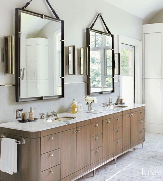 Armonk NY Bathroom Vanity Designs Neutral