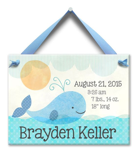 Nautical nursery personalized baby boy gifts nautical baby tile negle Images