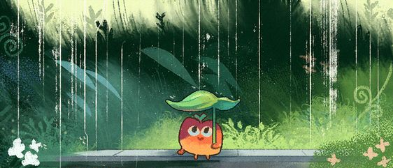 stayin' dry (sorry bout the relative lack of posts! i've been working on some neat stuff, but can't post anything yet. should be back to daily drawings soon though!)