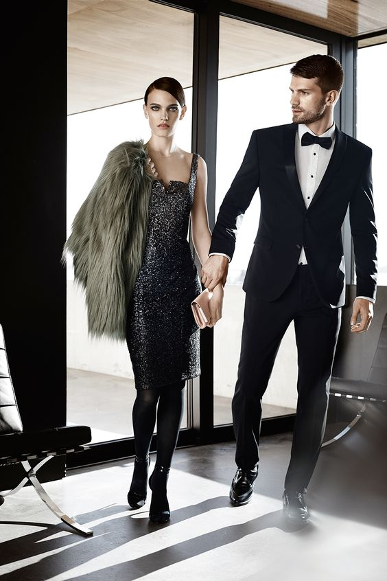 s.Oliver PREMIUM fall/winter collection 2015 #dinner #cocktail #party #suit #wardrobe #style #fasion #glamour