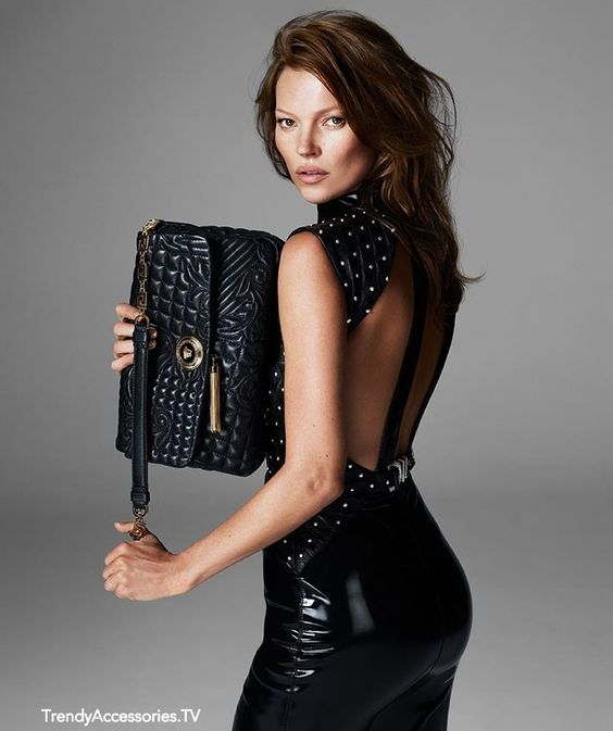 Kate Moss for Versace