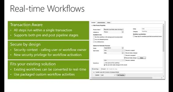Microsoft Dynamics CRM 2013 Processes New Features   Real Time Workflows - EPC Group Team of Experts