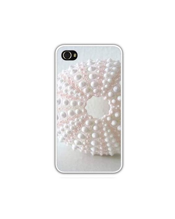 Pink Sea Urchin iPhone Case Select iPhone 4/4s by LovesParisStudio, $5.00
