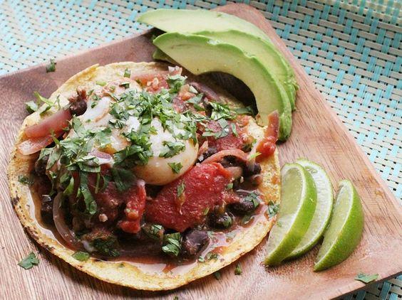 Skillet Huevos Rancheros With Steamed Eggs | Recipe | Huevos Rancheros ...