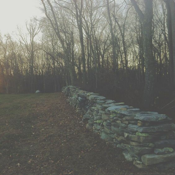dry stacked stone / photograph: michaela harlow