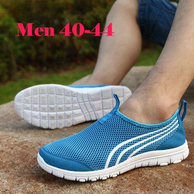 New Men&Women Fashion Casual Summer Zapato Casual Breathable Mesh Zapatillas Shoes For Women