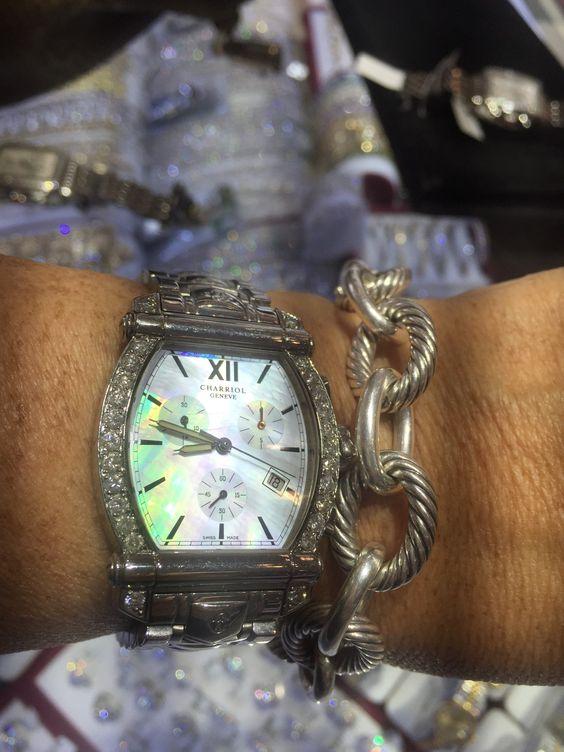 Charriol Watch/ David Yurman bracelet