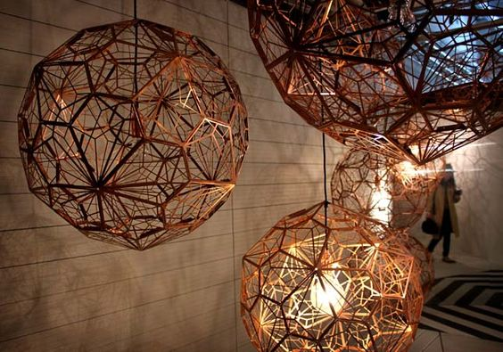 SALONE MILAN 2012: SATELLITE EXHIBITIONS - Tom Dixon: Etch Light Web Copper - Tom Dixon - Core77
