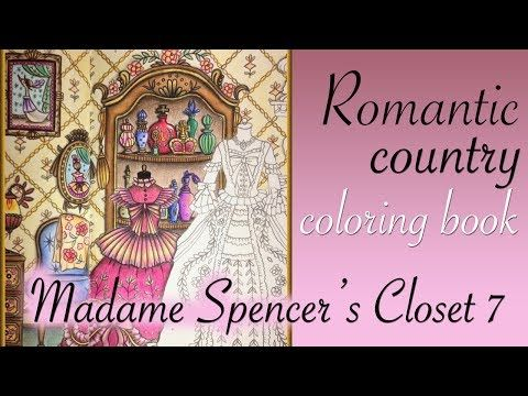 Youtube Romantic Country Coloring Books Romantic