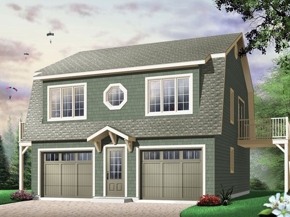 Two story carriage house plans home design and style for Carriage house apartment floor plans