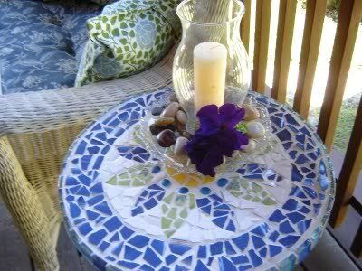 DIY Mosaic table