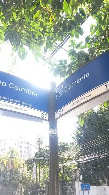 Rua Estácio Coimbra com São Clemente Botafogo - RJ